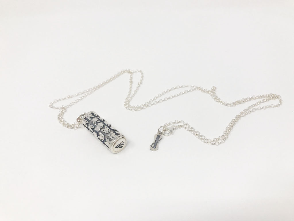 LARGE GRIP NECKLACE-SILVER