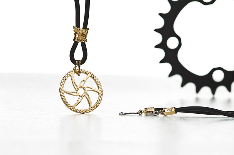 DISC BRAKE NECKLACE