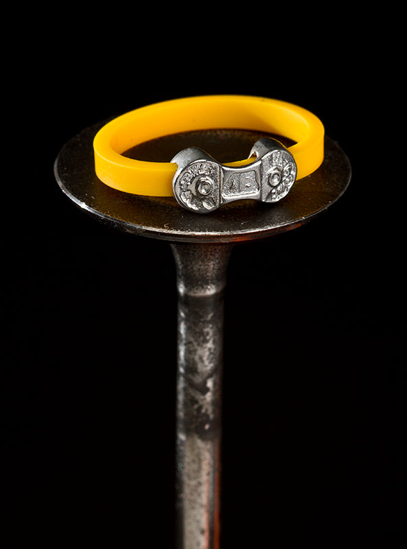 MINI DANI BIKE LINK YELLOW RING