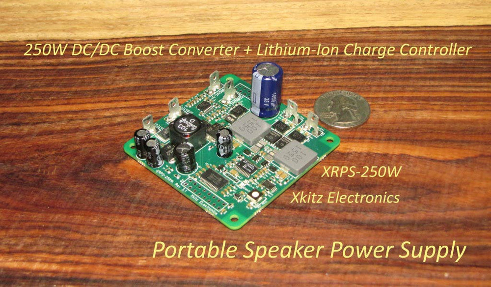 XRPS-250W Lithium-Ion Power Supply