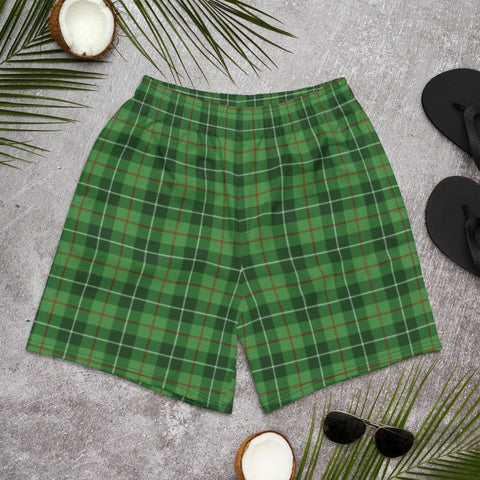 Clan Blane Tartan Men's Athletic Long Shorts - XS