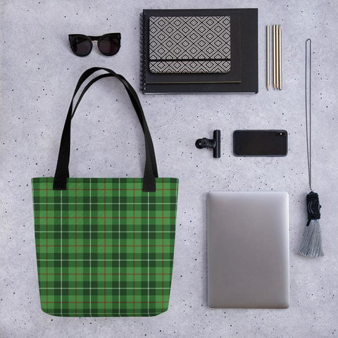 Clan Blane Tartan Tote bag - Black