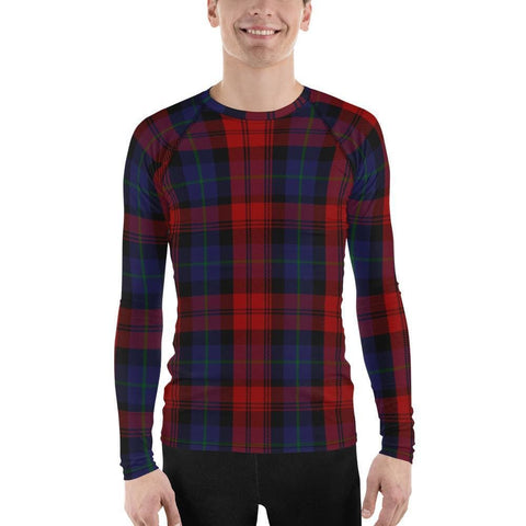 Clan MacLachlan Tartan Men's Rash Guard - XS
