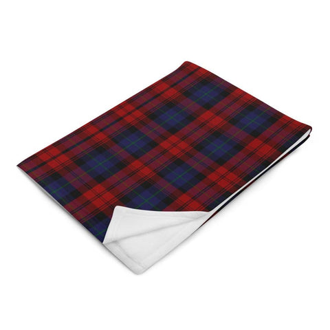Clan MacLachlan Tartan Throw Blanket