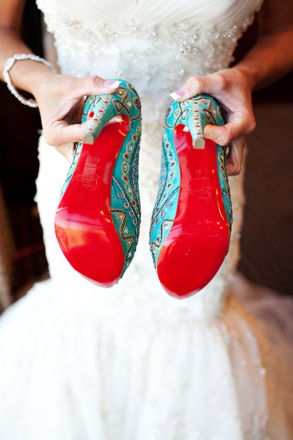 christian louboutin red bottoms wedding shoes heels
