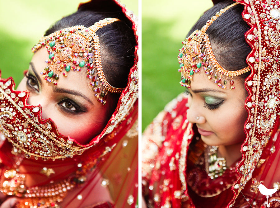 indian weddings bride bold colors hindu