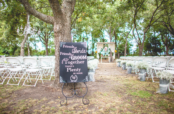 Chalkboard Signs, Outdoor Wedding, Chandelier Outdoors