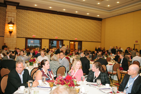 Corporate Dinner at The Gaylord Texan in Dallas Texas