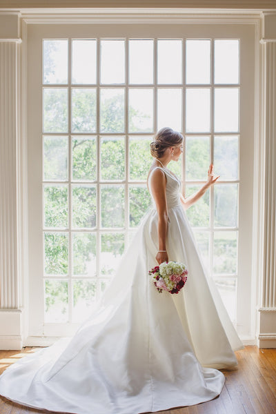 Couture Wedding Gown, Lone Star Mansion, Bridal Portraits