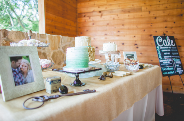Dessert Bar, Wedding Cake