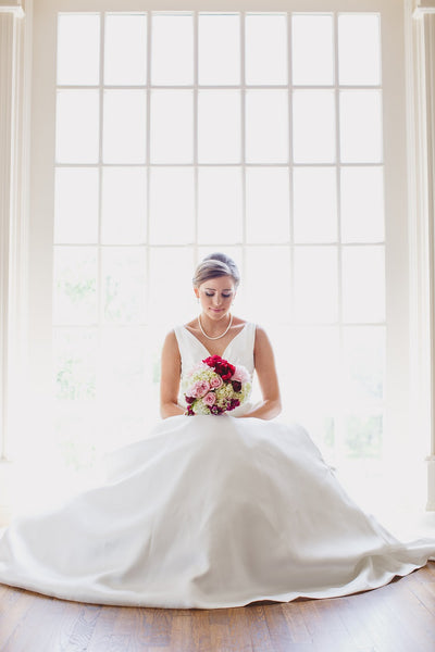 Elegant Bridal Portraits, Bridal Up-do, Bouquet