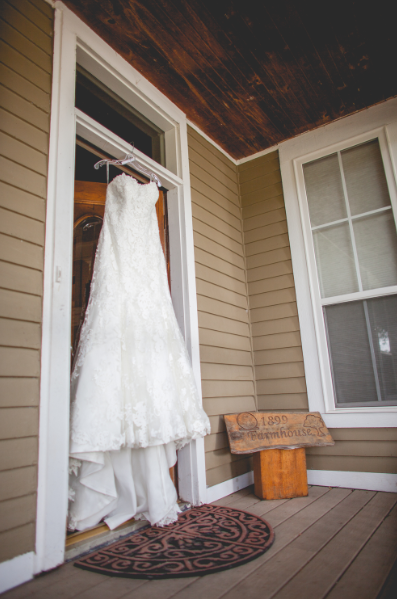 White Wedding Dress, Cottage