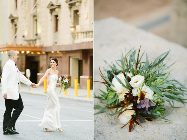 Downtown Bohemian Wedding Dallas Tx