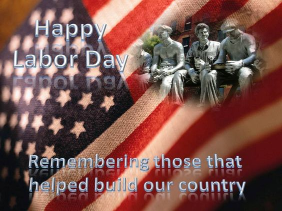 Labor Day, American Flag, Working Americans