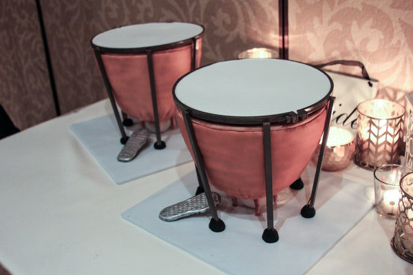 Percussion Grooms Cake