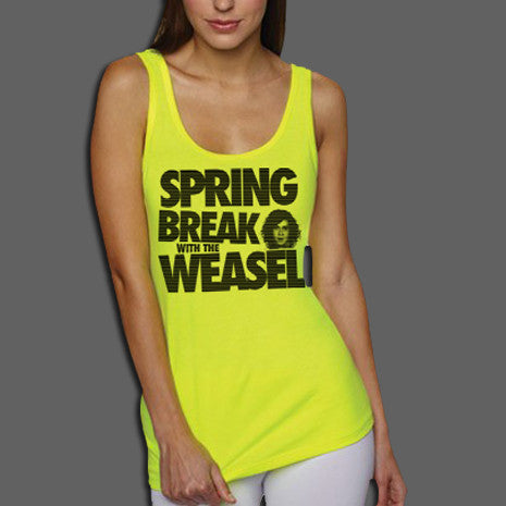 Spring Break Neon Girls Tank