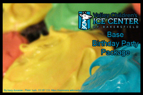 VALLEY CHILDREN'S HEALTH ICE CENTER - BIRTHDAY PARTY