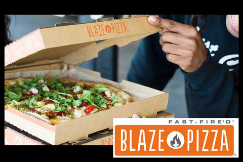BLAZE PIZZA - 2-PIZZA'S & 2-DRINKS