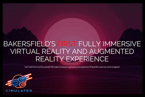 CIMULATED VR (VIRTUAL REALITY)