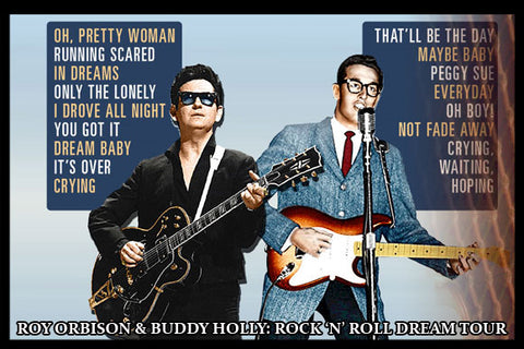 "FOX THEATER - ""ROY ORBISON & BUDDY HOLLY""  ORCHESTRA RIGHT"