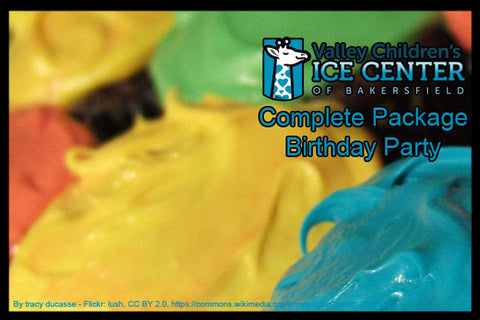 VALLEY CHILDREN'S HEALTH ICE CENTER - FULL BIRTHDAY PARTY