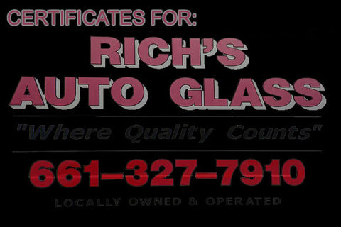 RICH'S AUTO GLASS