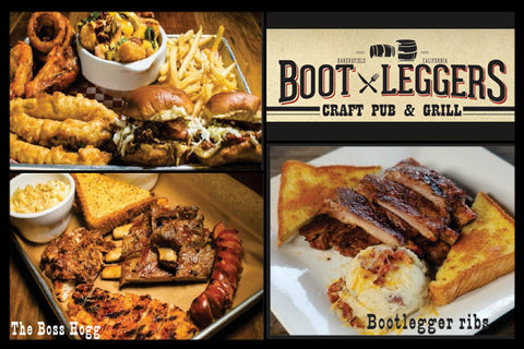 BOOTLEGGERS - LUNCH OR DINNER