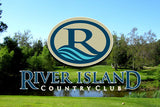 RIVER ISLAND COUNTRY CLUB - Round of Golf for Two