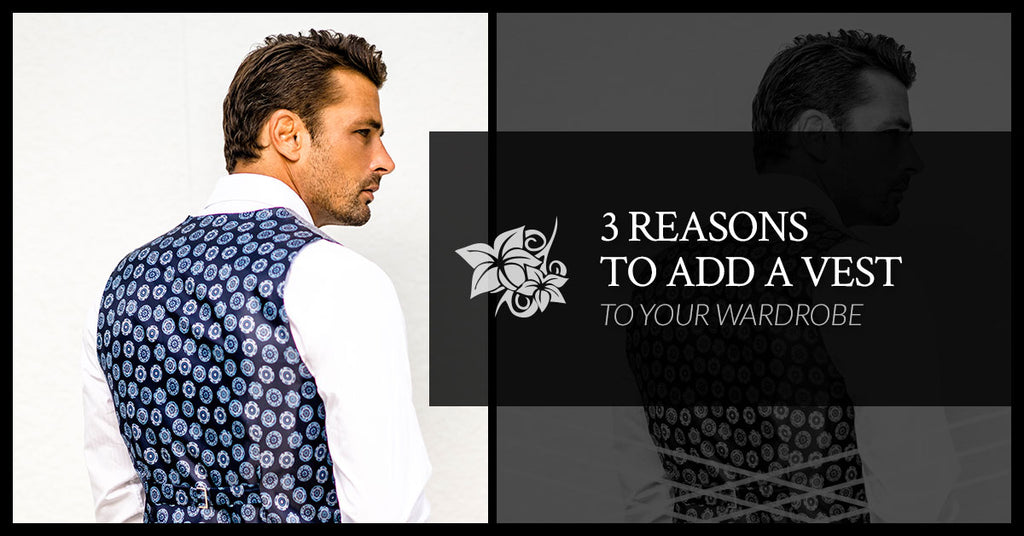 3 Reasons To Add A Vest To Your Wardrobe