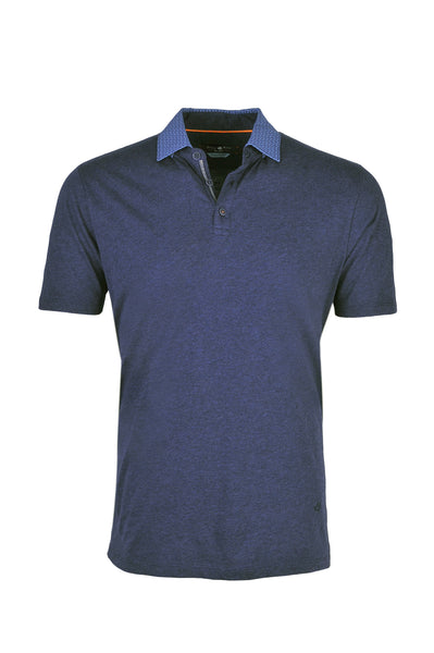 AMF7149 - Men's Navy Jersey Polo