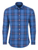 Blue Plaid Long Sleeve Shirt