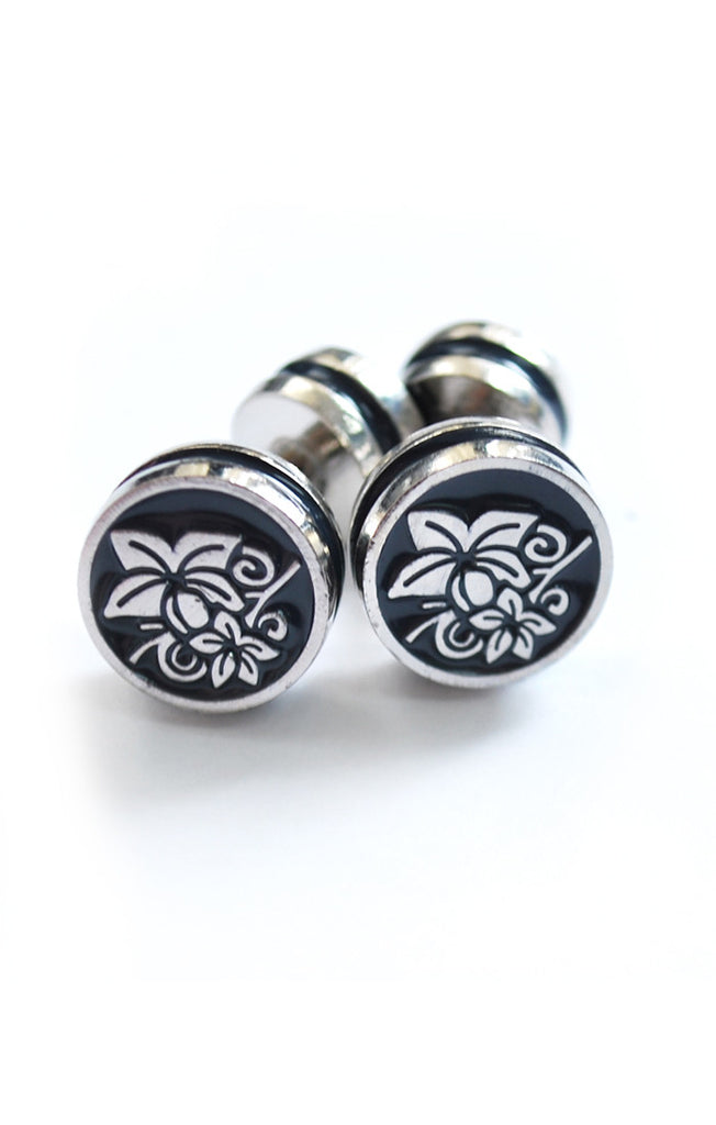 Elegant Double Panel Cufflinks