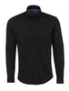 Black Knit Long Sleeve Shirt