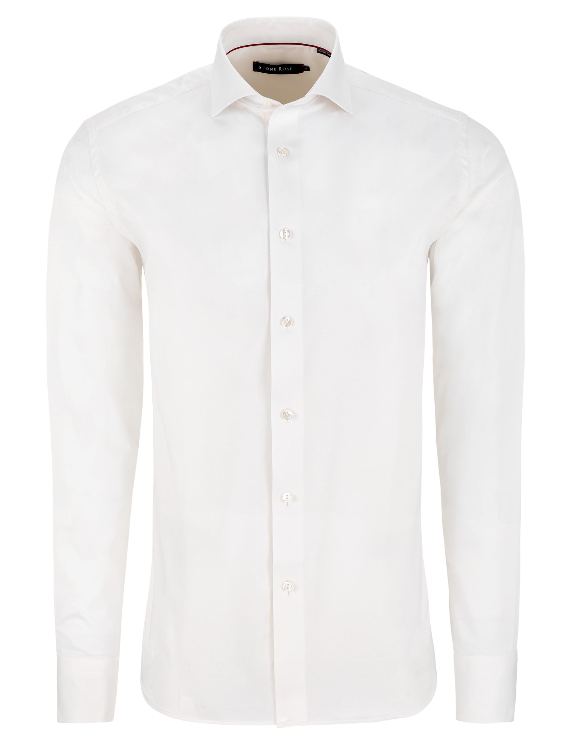 White Dry Touch Long Sleeve Shirt
