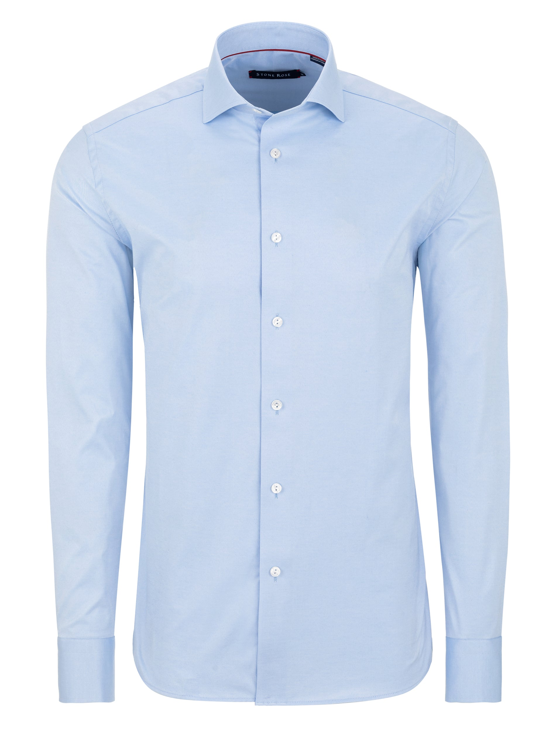 Light Blue Dry Touch Long Sleeve Shirt