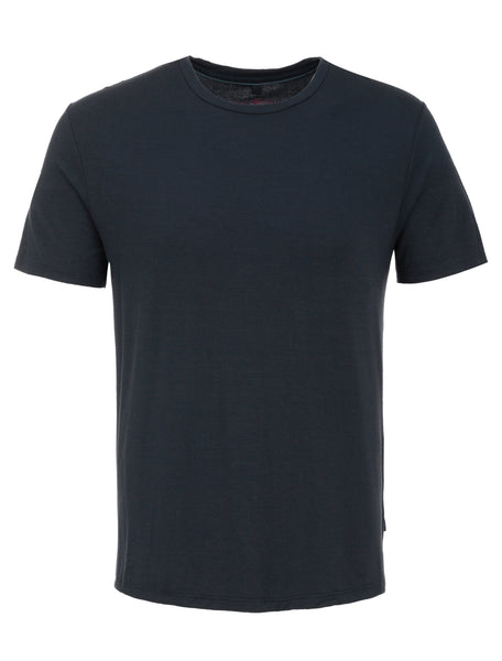 Navy Crew Neck Modal T-Shirt