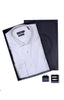 Men's Box Set with Stripe Shirt in White