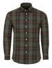 Khaki Woven Plaid Long Sleeve Shirt