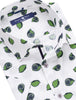 Green Novelty Print Short Sleeve Shirt
