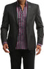 MXP3201 - Men's Solid Blazer in Gray