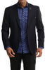 Stone Rose Men's Solid Blazer in Navy-Stone Rose
