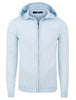 Light Blue Natural Heather Hoodie