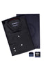 Men's Box Set with Herringbone Shirt in Black