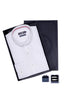 Men's Box Set with Textured Shirt in White
