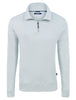 Light Grey Micro Modal Jersey Quarter Zip