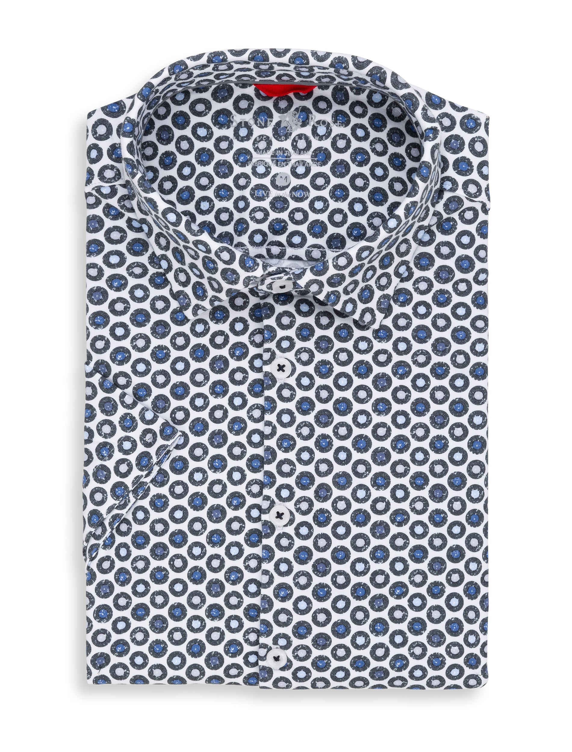 Blue Records Performance Knit Short Sleeve Shirt