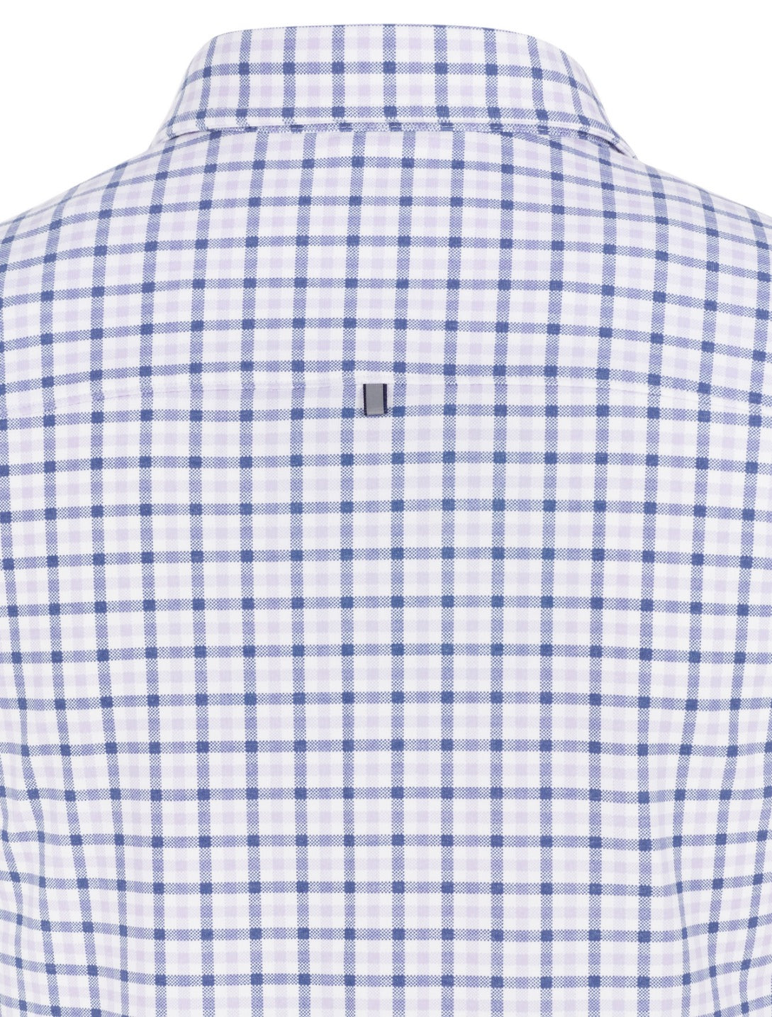 Lavender Check Performance Knit Long Sleeve Shirt