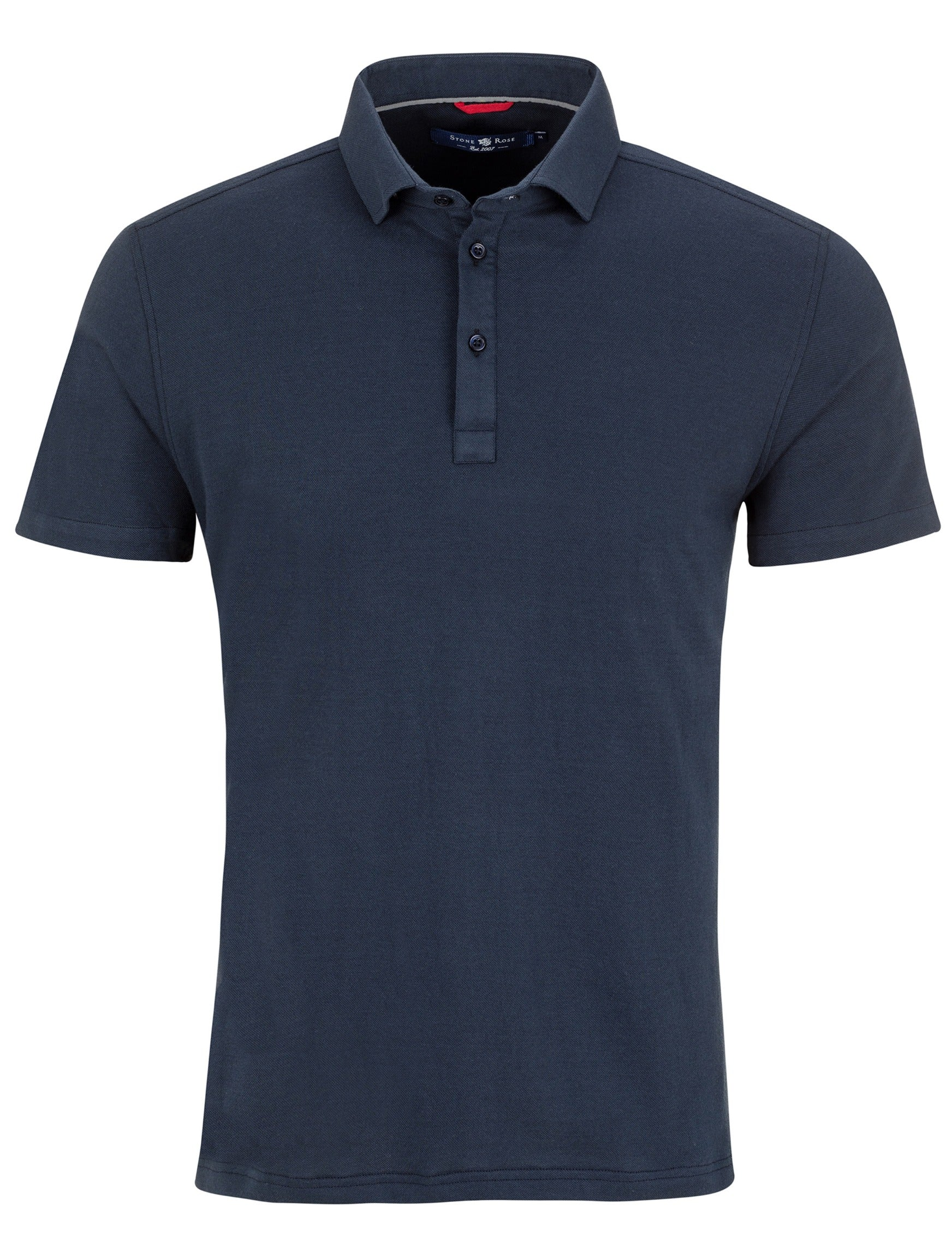 Dark Navy T-Series Performance Pique Polo