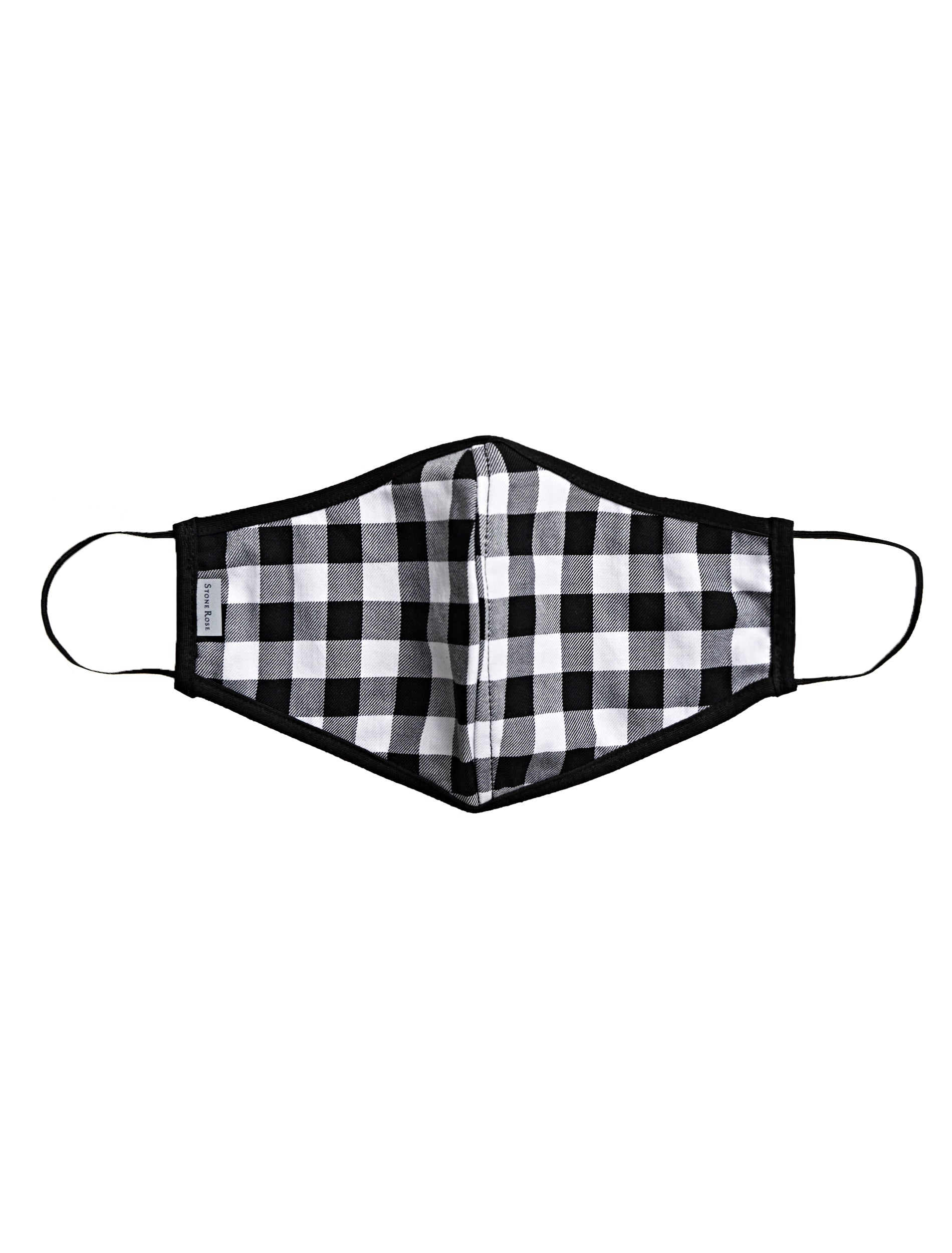 Black and White Check - Reusable Lighweight Face Mask