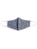 Grey Flower - Reusable Lighweight Face Mask